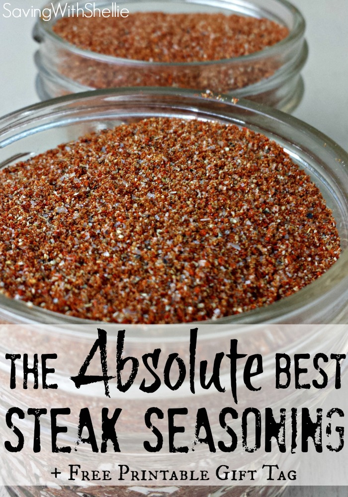 The Best Homemade Steak Seasoning