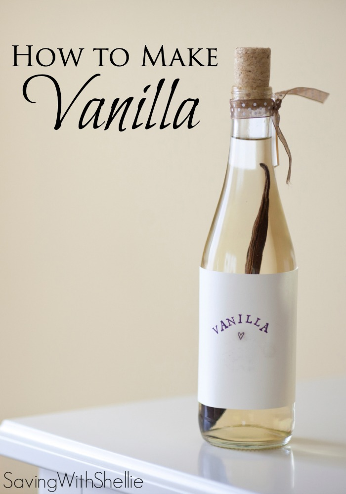 How to Make Homemade Vanilla