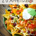 As we head into football season don't miss this list of 20 Amazing Appetizers that are perfect for your next game day celebration or tailgate party!