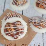 Chocolate, Pretzels and Caramel OH MY! These little White Chocolate Truffles are amazing and so easy to make!