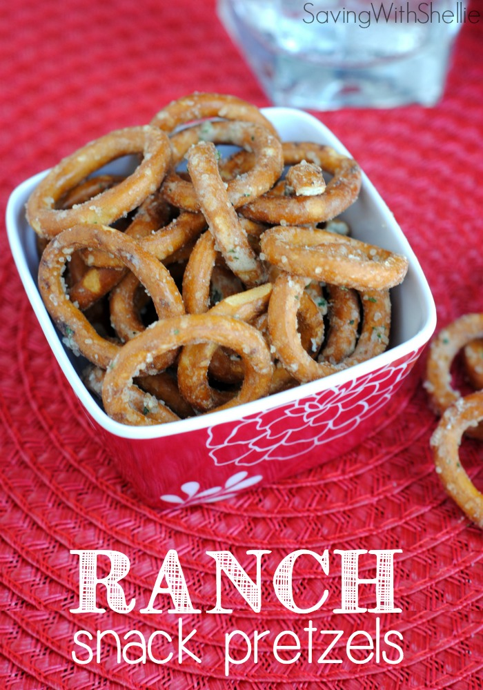 Ranch Snack Pretzels