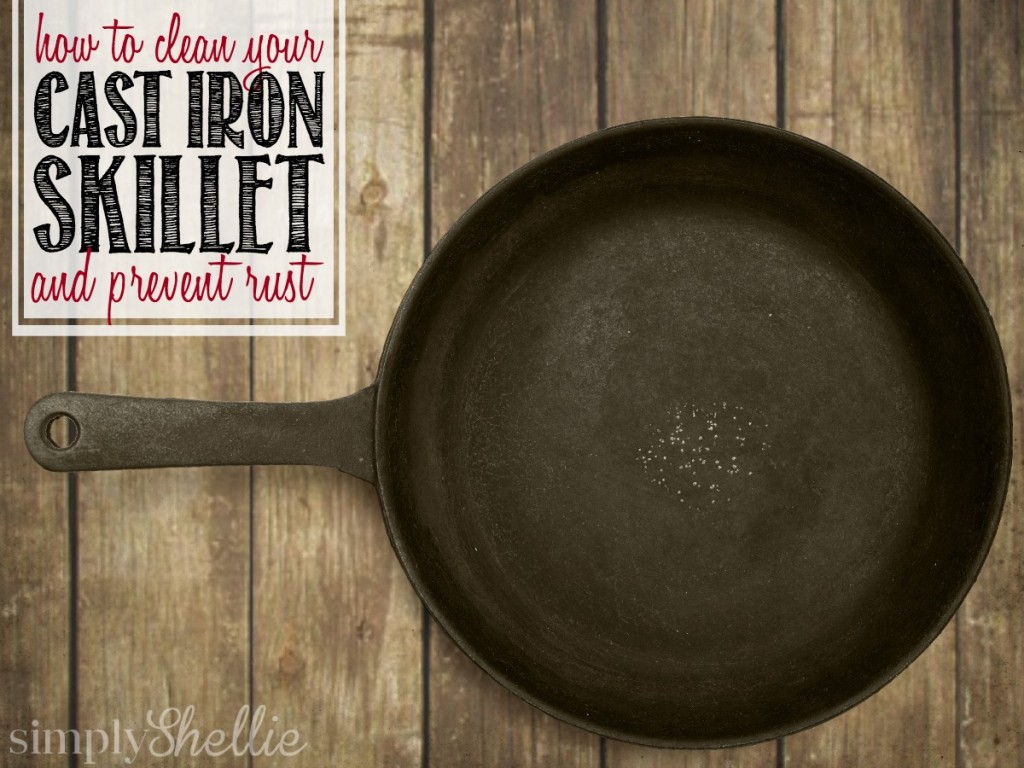 How to Clean a Cast Iron Skillet and Prevent Rust