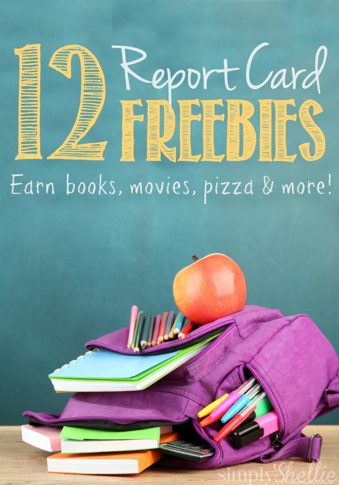 Good Report Card Freebies 2015
