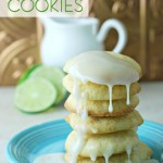 These soft lime cookies are light and buttery and full of lime flavor. You'll have a hard time not eating the whole batch yourself. Delish!