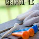 Unusual Uses for Golf Tees. I love #6! I can never find enough corn cob holders but we always have plenty of Golf Tees. Problem solved!