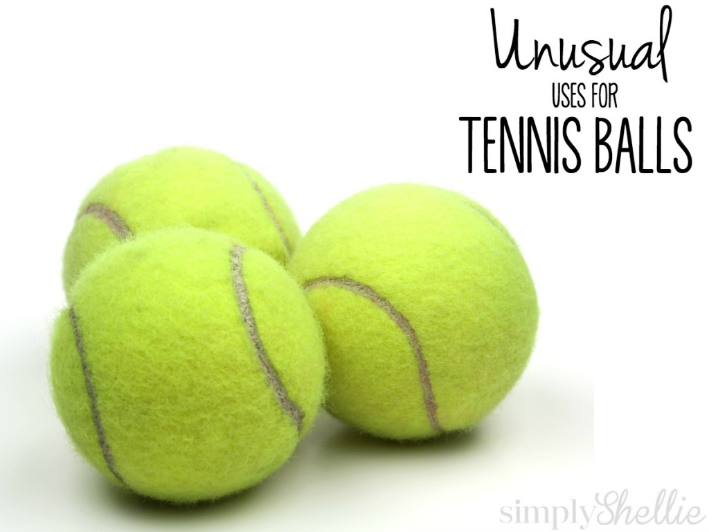 Tennis Balls can be awesome off the court and around your house. Check out these fun uses. I'm a little skeptical of #7 but excited to try #3 and #8.