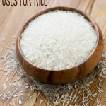 I bet you didn't know rice could be used for other things than eating. Here are a bunch of unusual uses for rice to try around your house. Tip #6 is one of my fave and one I use often. I'm excited to try #5.