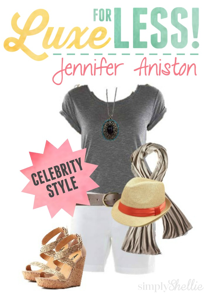 Luxe for Less | Jennifer Aniston's Casual Style