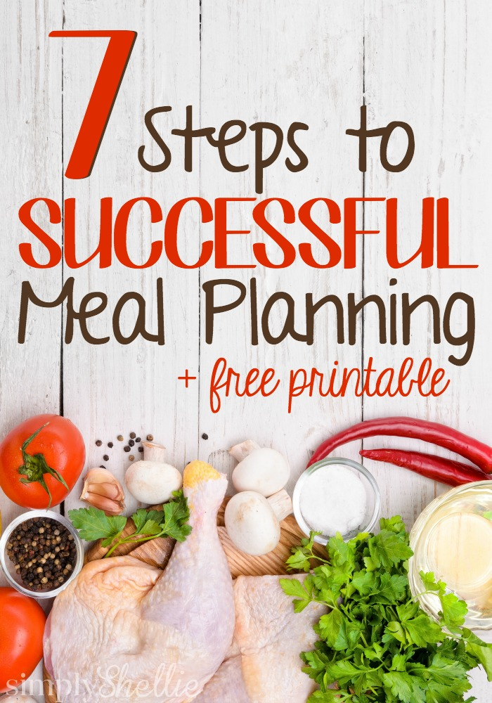 7 Steps to Successful Meal Planning