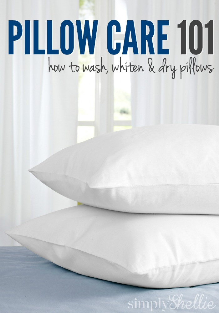 Pillow Care 101 | How to Wash, Whiten & Dry Pillows