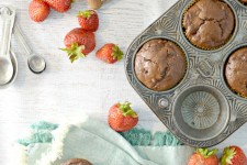 Strawberry Chocolate Muffins