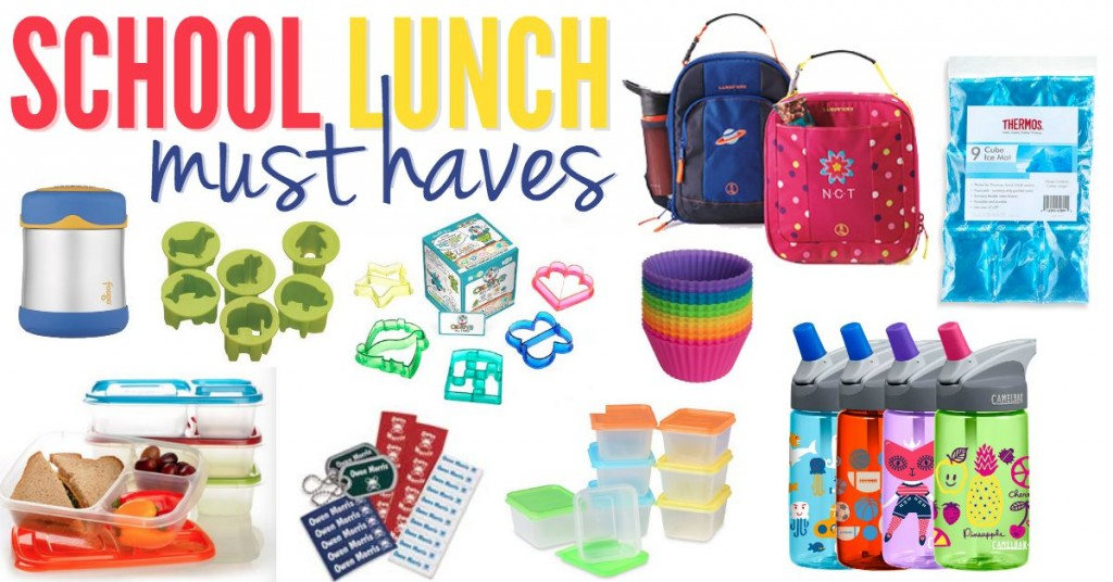 School Lunch Must Haves