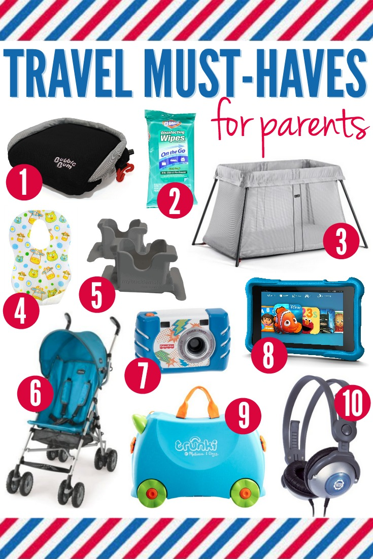 10 Travel Must-Haves for Parents