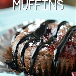 Black Forest Chocolate Chip Muffins