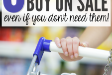 8 Things You Should Always Buy On Sale