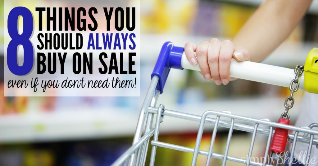 Things You Should Always Buy On Sale