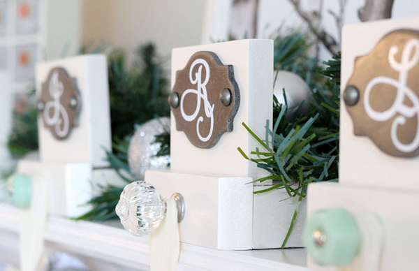 Easy Build Stocking Hangers via Fynes Designs