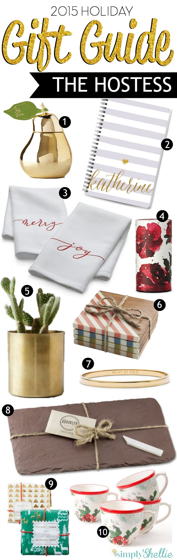 Host Gift Ideas holiday gift guide: fabulous hostess gift ideas