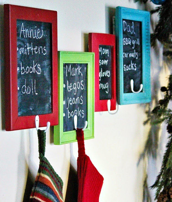 Junkers Unite Chalkboard Wish List Stocking Holders