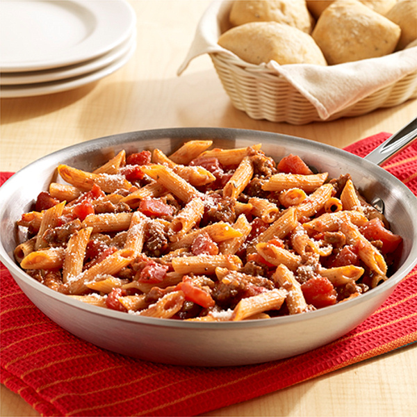 One Pot Italian Sausage Pasta readyseteat