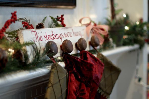 The Stockings were hung tutorial via scissors and spatulas