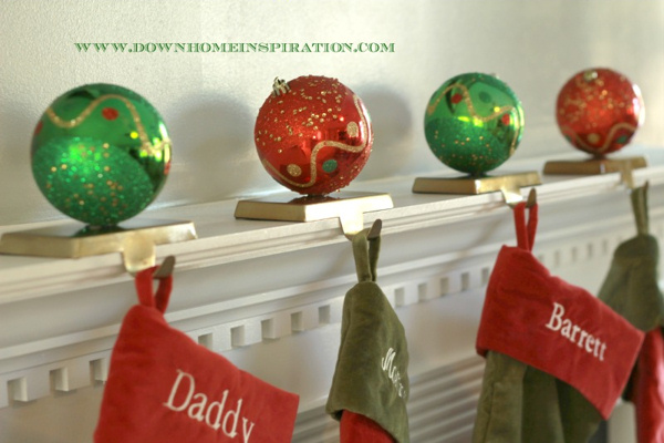 stocking-holder-from ornaments via down home inspiration