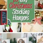 DIY Christmas Stocking Hangers