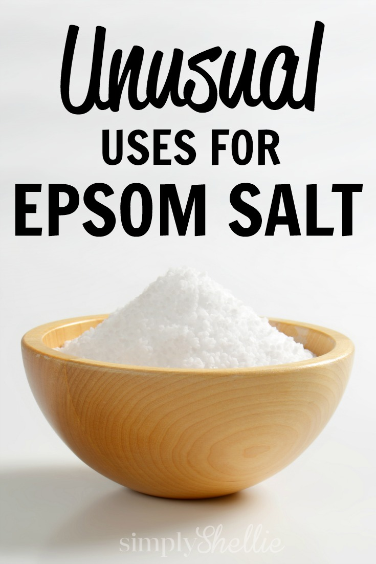 Unusual Uses for Epsom Salt