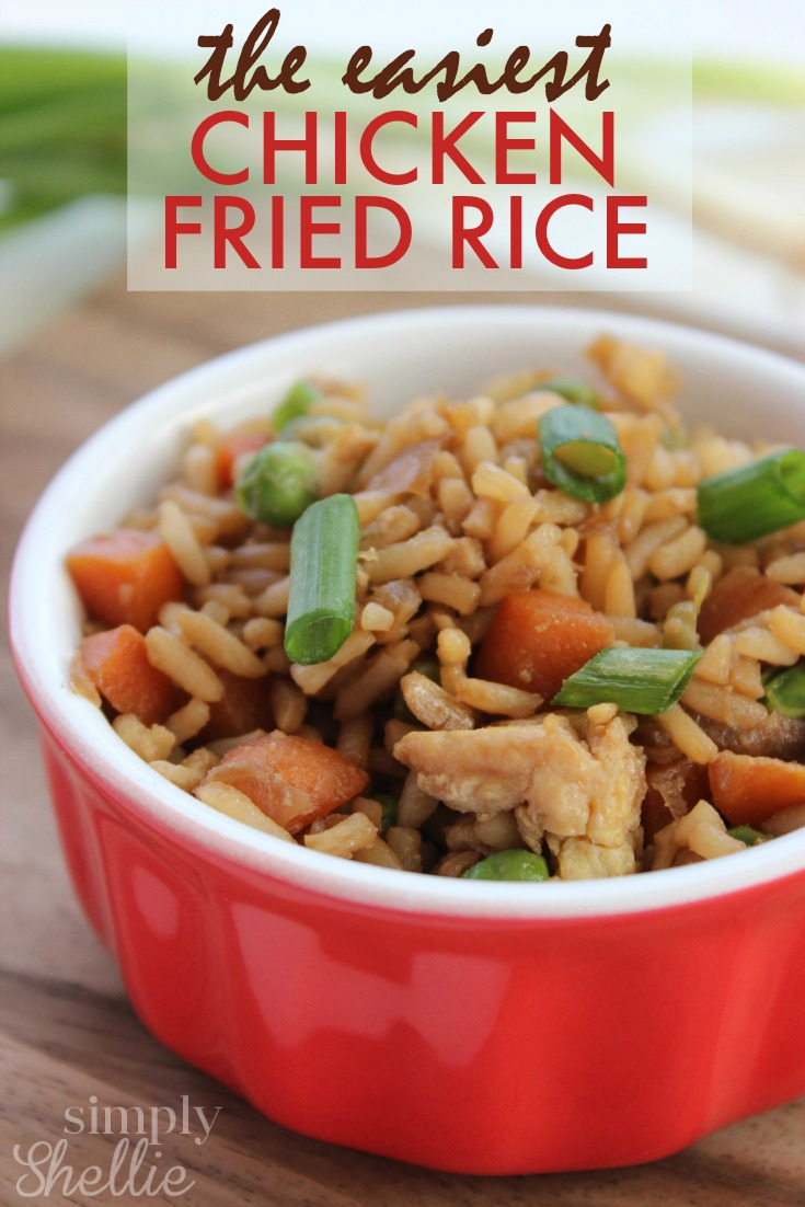 The Easiest Chicken Fried Rice