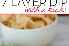 7 Layer Dip with a Kick