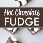 Hot Chocolate Fudge