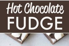 Easy Hot Chocolate Fudge in the Microwave!