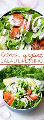 Lemon Yogurt Salad Dressing