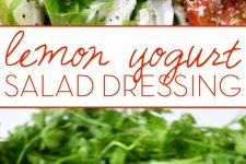 Creamy Lemon Yogurt Salad Dressing