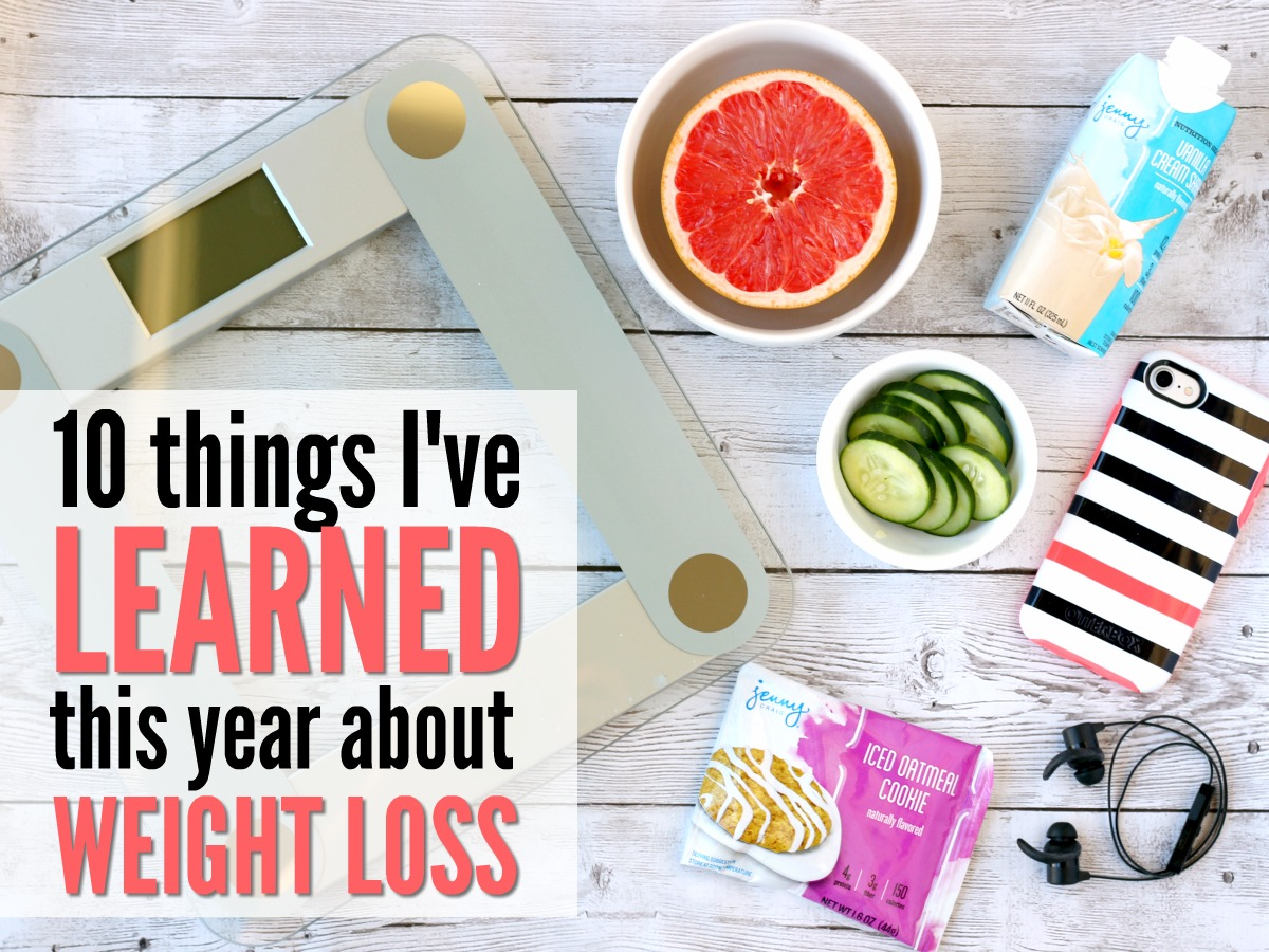 Things I've Learned About Weight Loss