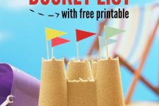 Awesome Summer Bucket List Ideas with FREE Printable