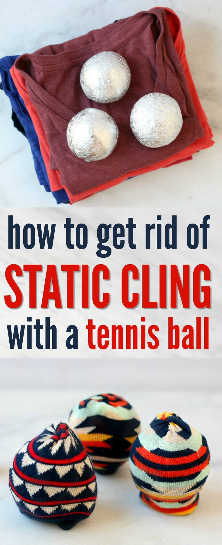 How To Get Rid Of Static Cling With A Tennis Ball Simply Shellie