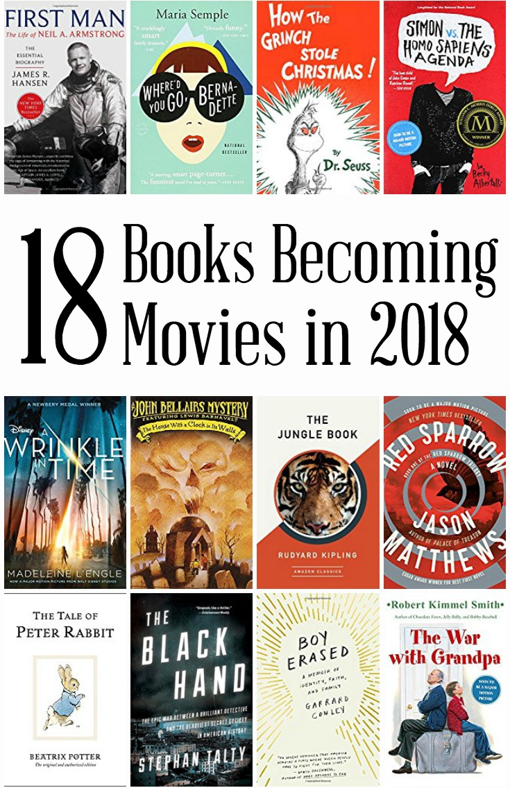 18 Books Becoming Movies in 2018