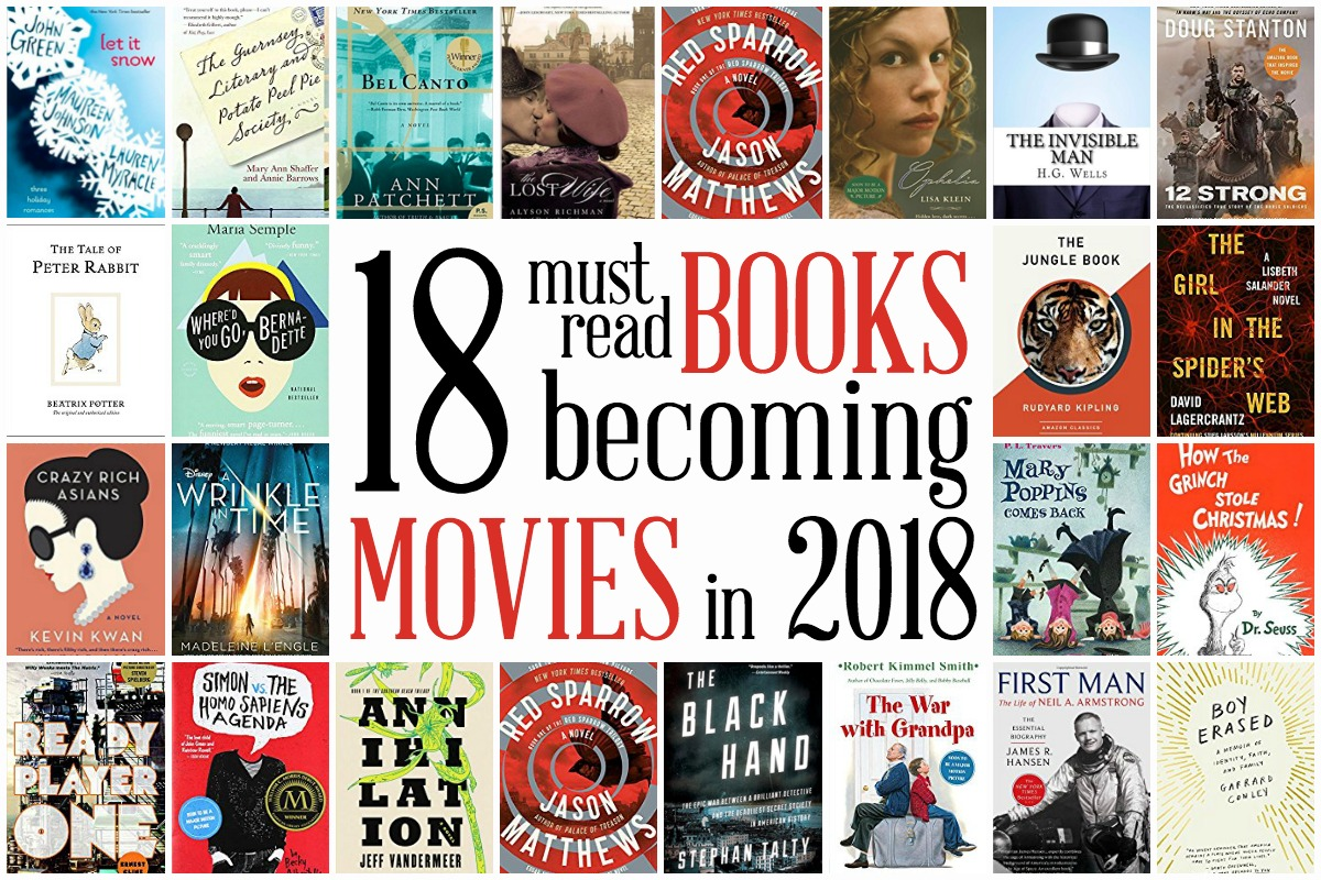 18 Books Becoming Movies in 2018 Horizontal