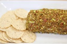 Bacon Pistachio Goat Cheese Ball