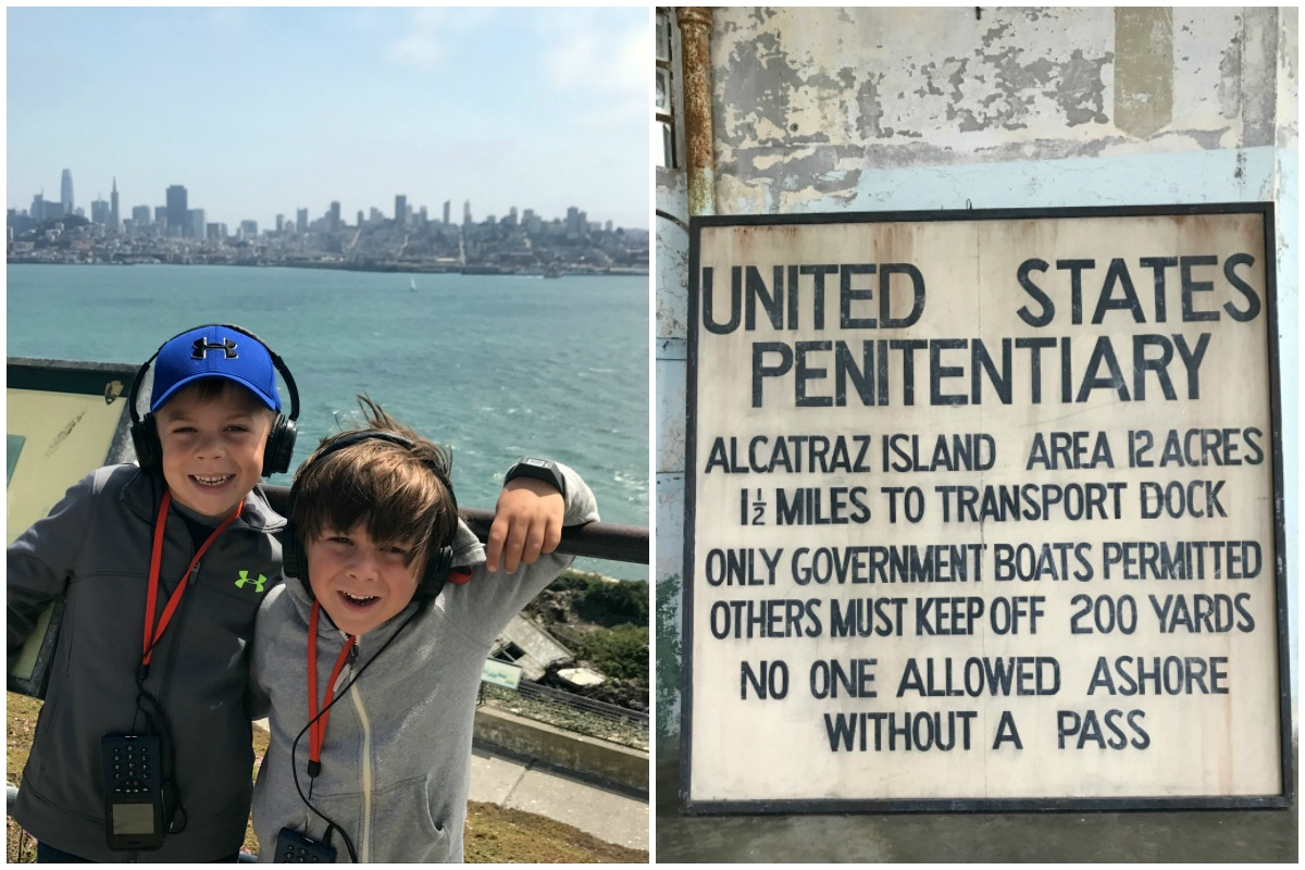 San Francisco with Kids - Alcatraz