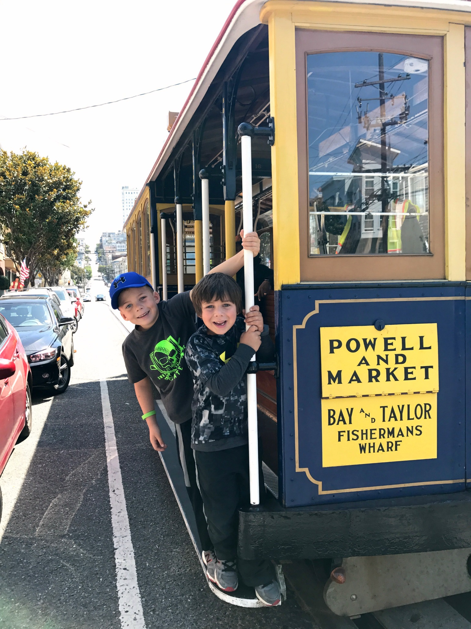 San Francisco with Kids - Cable Cars