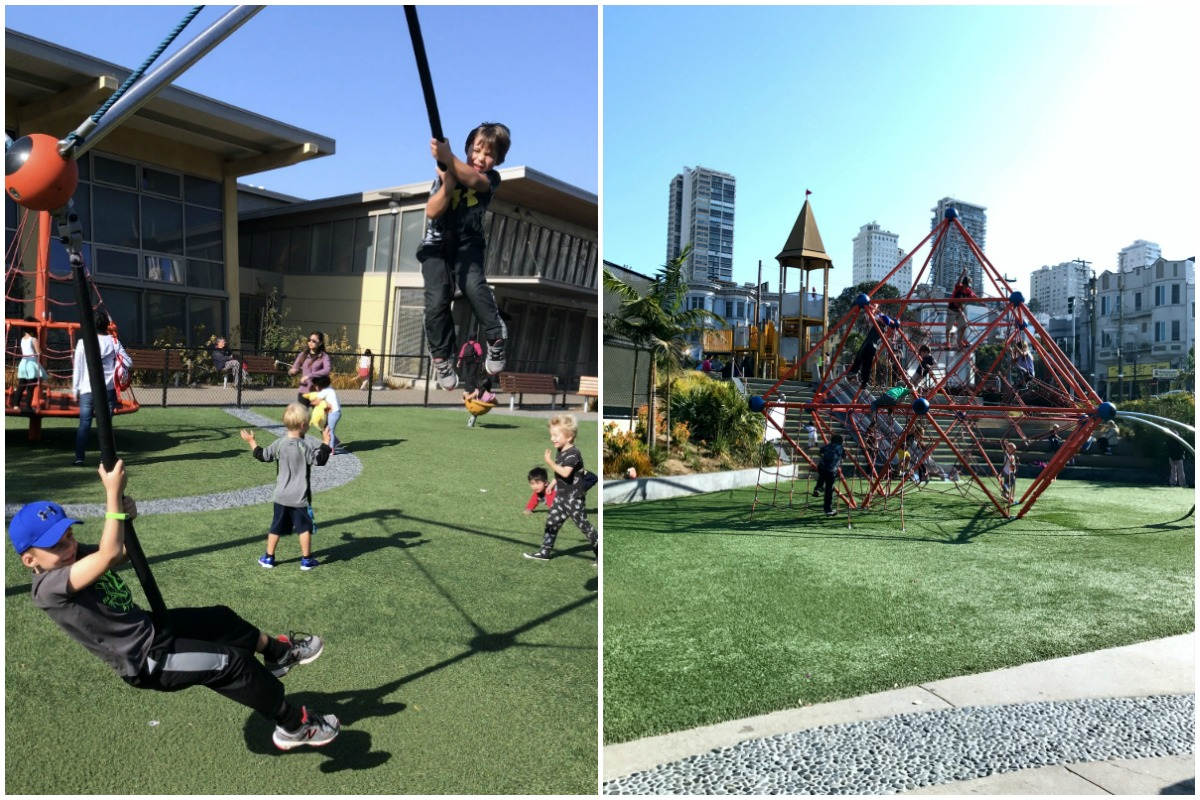 Exploring San Francisco with Kids - Joe DiMaggio Park