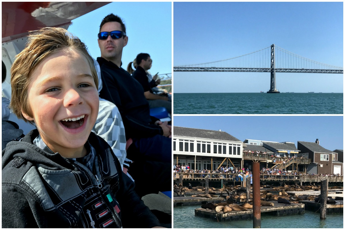 San Francisco with Kids - Rocket Boat 3