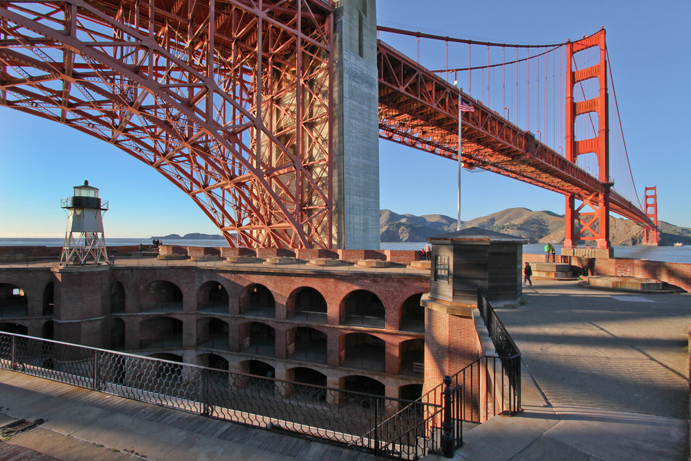 San Francisco's Urban National Parks - Fort Point