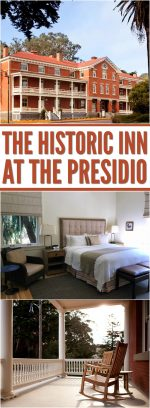 Inside the Historic Inn at the Presidio