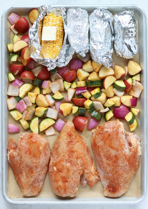 Sheet Pan Barbecue Chicken