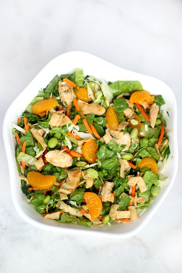 Orange Ginger Asian Chopped Salad